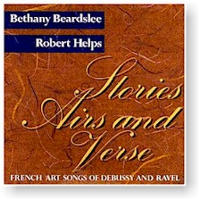 Beardslee/Helps: STORIES, AIRS AND VERSE cover